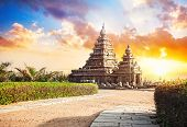 Shore Temple In India