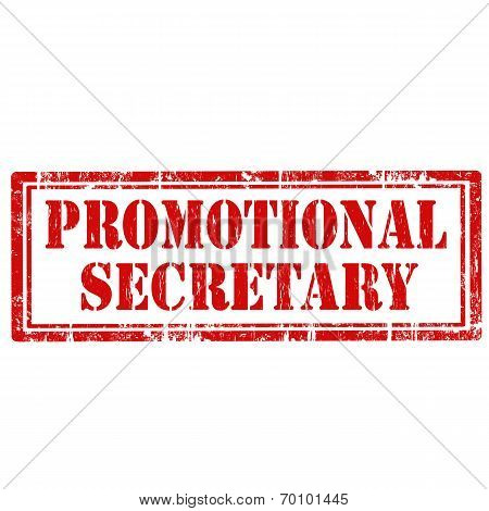 Promotional Secretary-stamp
