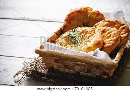 Potato Flatbread With Rosemary