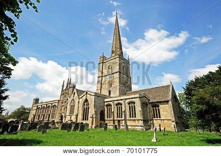 St John the Baptist church, Burford.