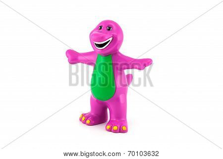 Barney The Purple Dinosaur Figure Toy
