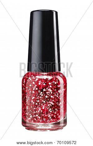 Glitter nail paint