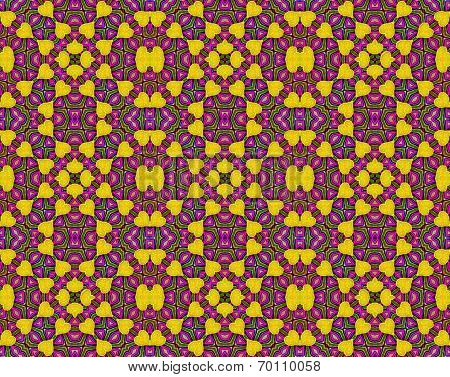 Seamless decorative pattern in a bright colors