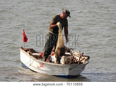 A turkish fisherman