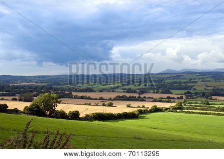 Beautiful Lush Irish Farmland