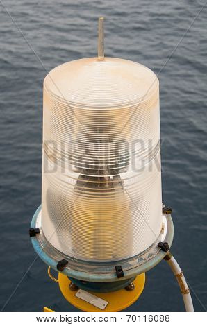 Navigation aid on the platform in offshore, Signal in marine