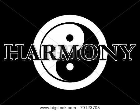 Yin Yang Illustration Series Harmony