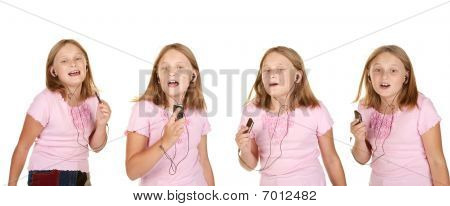 Images Of Young Girl Dancing With Mp3