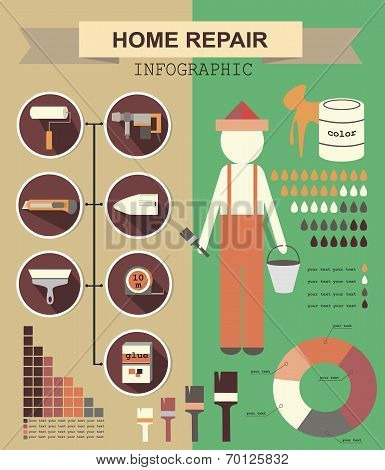 Infographic House Remodel