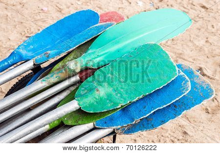 Colorful Paddle