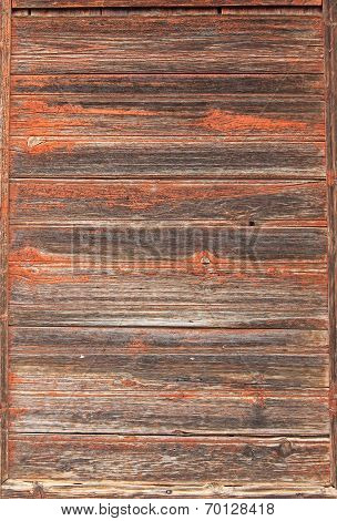 Rustic Wooden Background, Exfoliated And Vertical Striped
