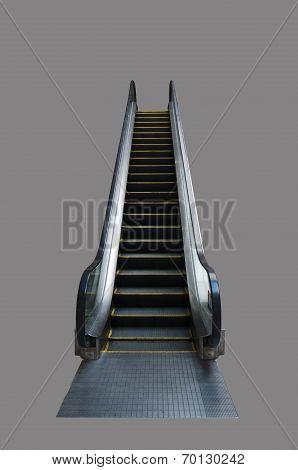 Escalator On Grey