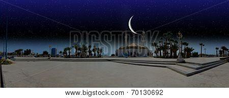 night over city of Jeddah