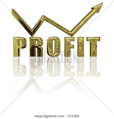 Profit And Arrow