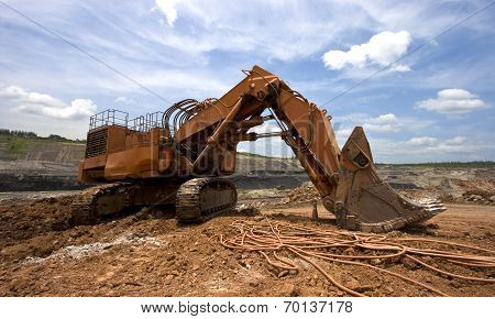 Excavator Machine Earthmoving