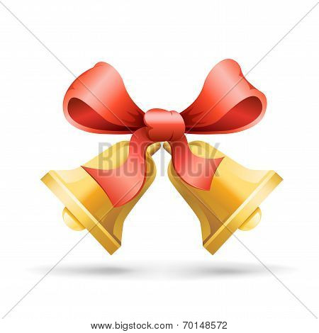 bell and ribbon