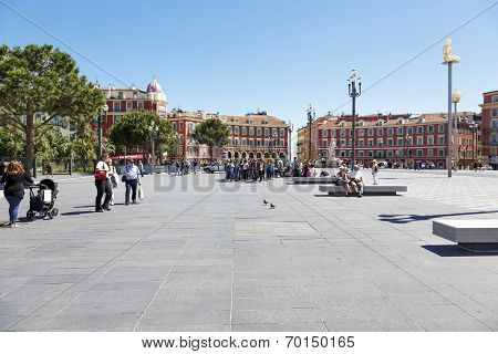 Architecture Of Place Massena, General View, Nice