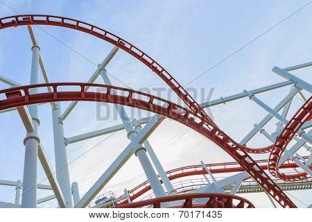 Loops Of Roller coaster