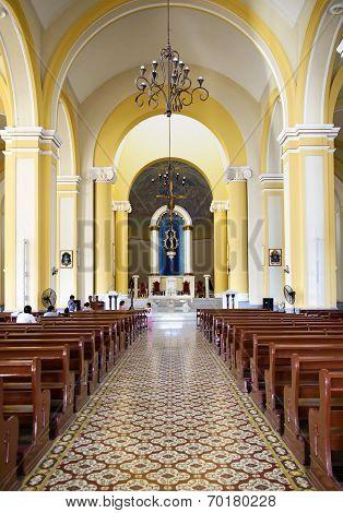 Indoor Granada catholic church
