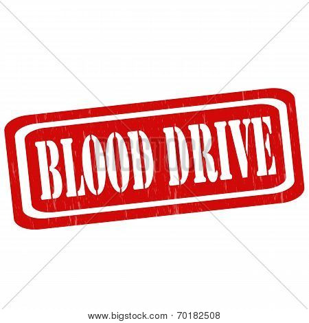 Blood Drive-stamp
