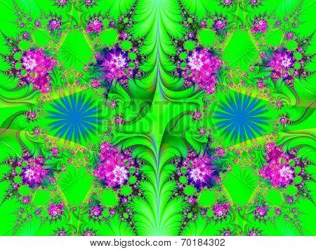 Beautiful Fractal Decorative Pano,