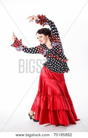 Female, Spanish Flamenco Dancer