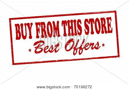 Buy From This Store Best Offers