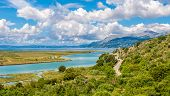 picture of albania  - Lagoon in Butrint archeological site  - JPG