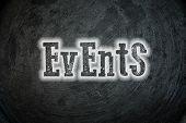 Постер, плакат: Events Concept