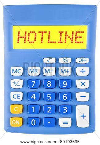 Calculator With Hotline