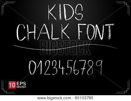 Kids Chalk Font