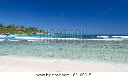 Hard-to- Reach The Shore Coconut Beach
