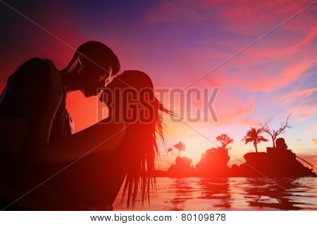 Romantic Lovers In Boracay