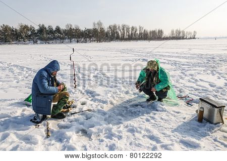 Fishing Through the Ice