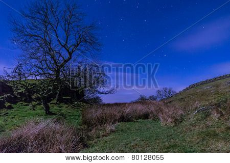 Starry Night Above Hadrians Wall
