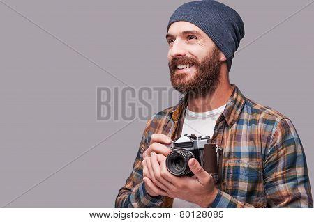 Happy Photographer.