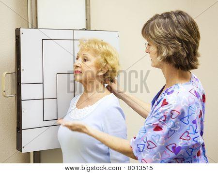 Taking X-rays