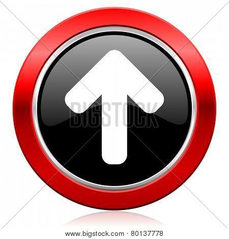 up arrow icon arrow sign