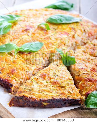 Zucchini And Carrot Frittata