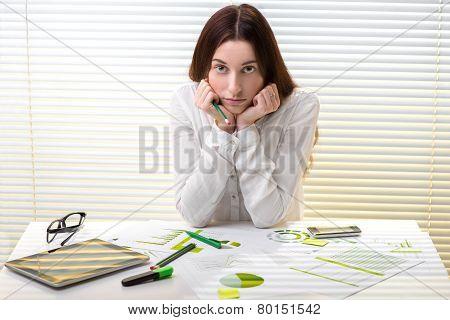 Economist working