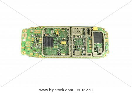 ruin mobile phone mainboard