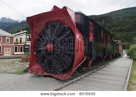 Old Snowplough Train