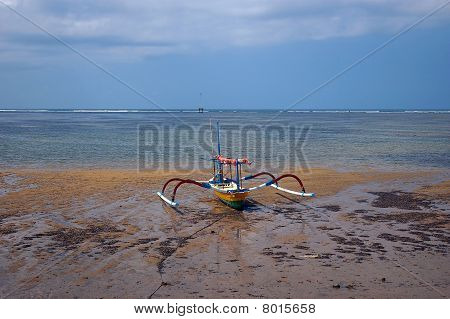 Fisherboat On The Beach