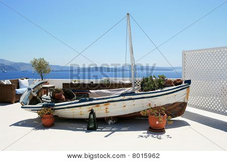 Old Decorative Boat