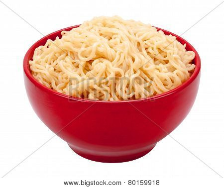 Ramen Noodles In A Bowl