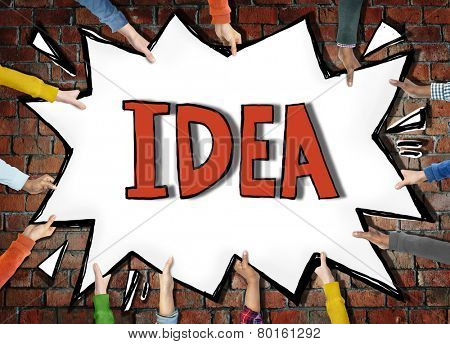 Idea Vision Plan Planning Mission Objection Concept