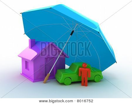 House Auto Perosn Umbrella