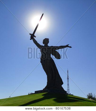 Monument Motherland Calls, Russia