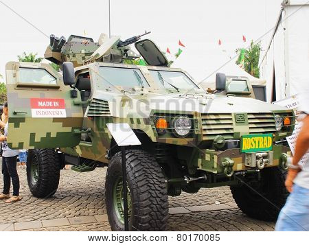 P2 4x4 Armored Tactical Vehicle