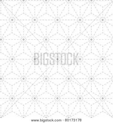 Seamless gray white geometrical pattern
